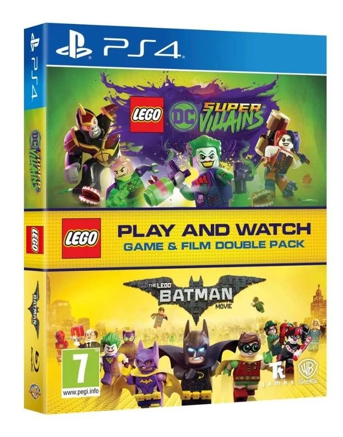 LEGO DC Villains PS4 Game & LEGO Batman Movie Double Pack