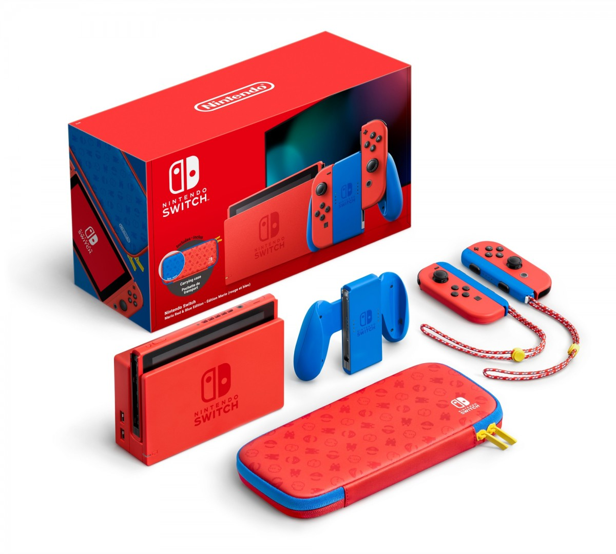 Nintendo Switch - Mario Red & Blue Edition