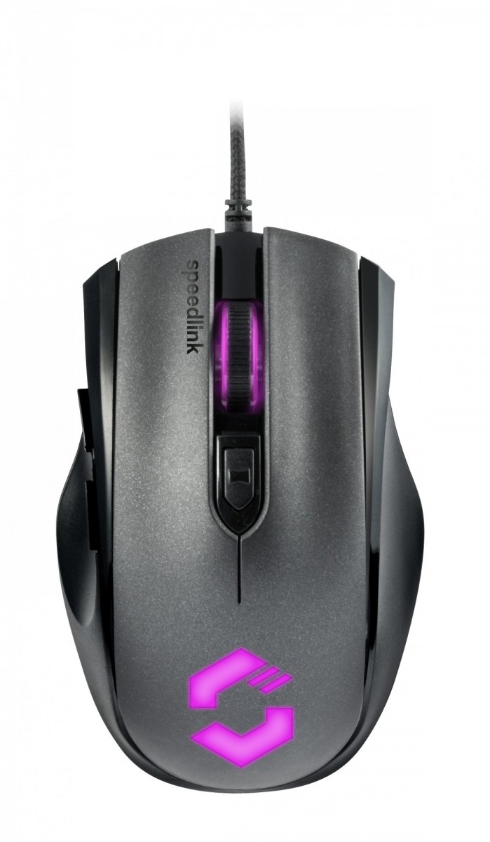 PC Мышь проводная Speedlink Assero Gaming Mouse black (SL-680007-BK)