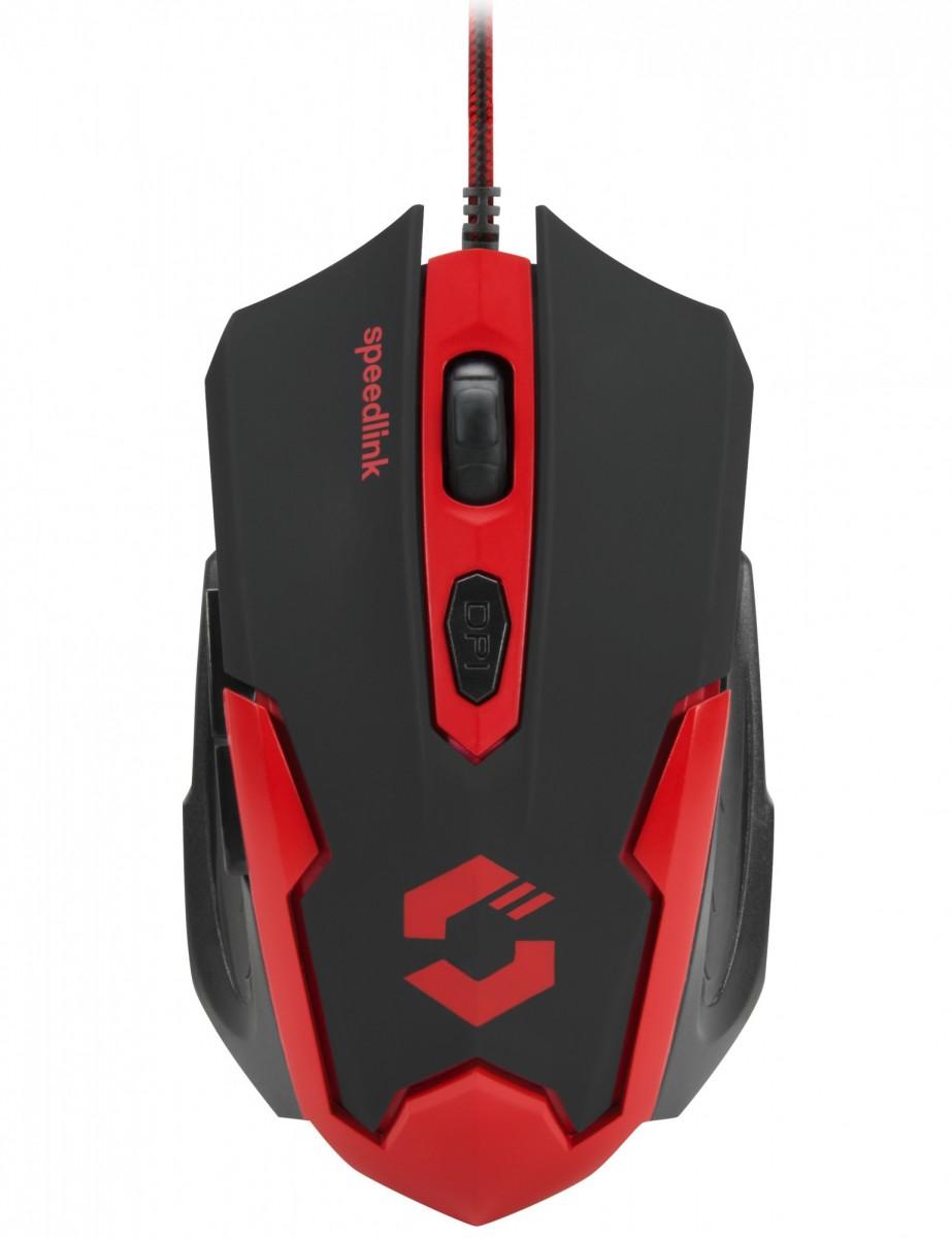 PC Мышь проводная Speedlink Xito Gaming Mouse black-red (SL-680009-BKRD)