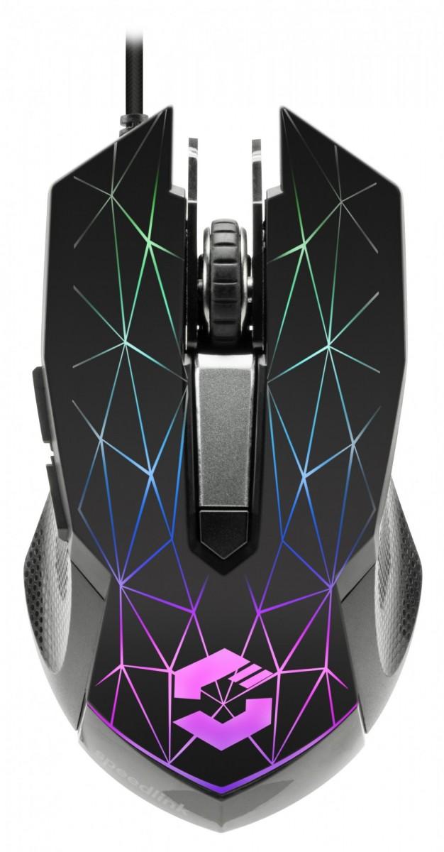 PC Мышь проводная Speedlink Reticos RGB Gaming Mouse black (SL-680011-BK)