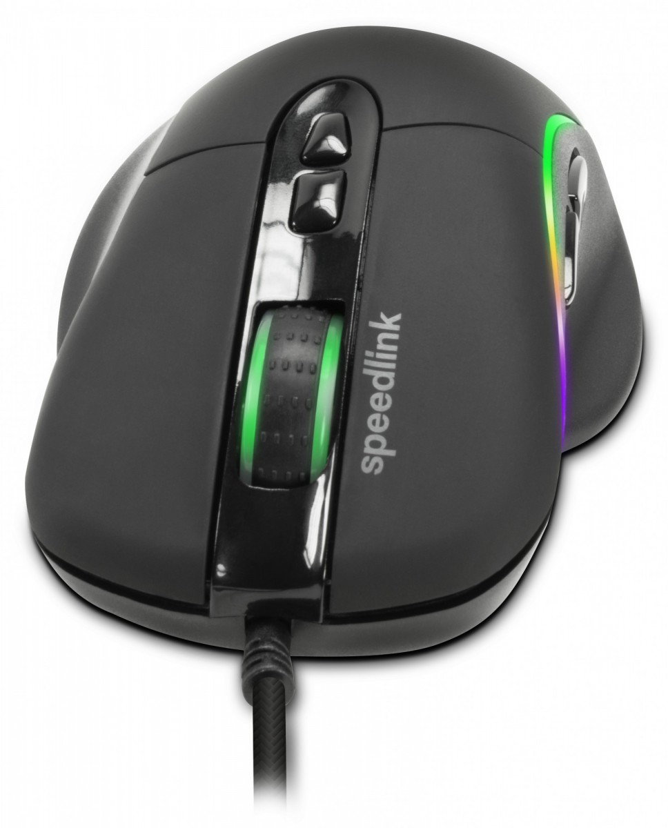 PC Мышь проводная Speedlink Sicanos RGB Gaming Mouse black (SL-680013-BK)