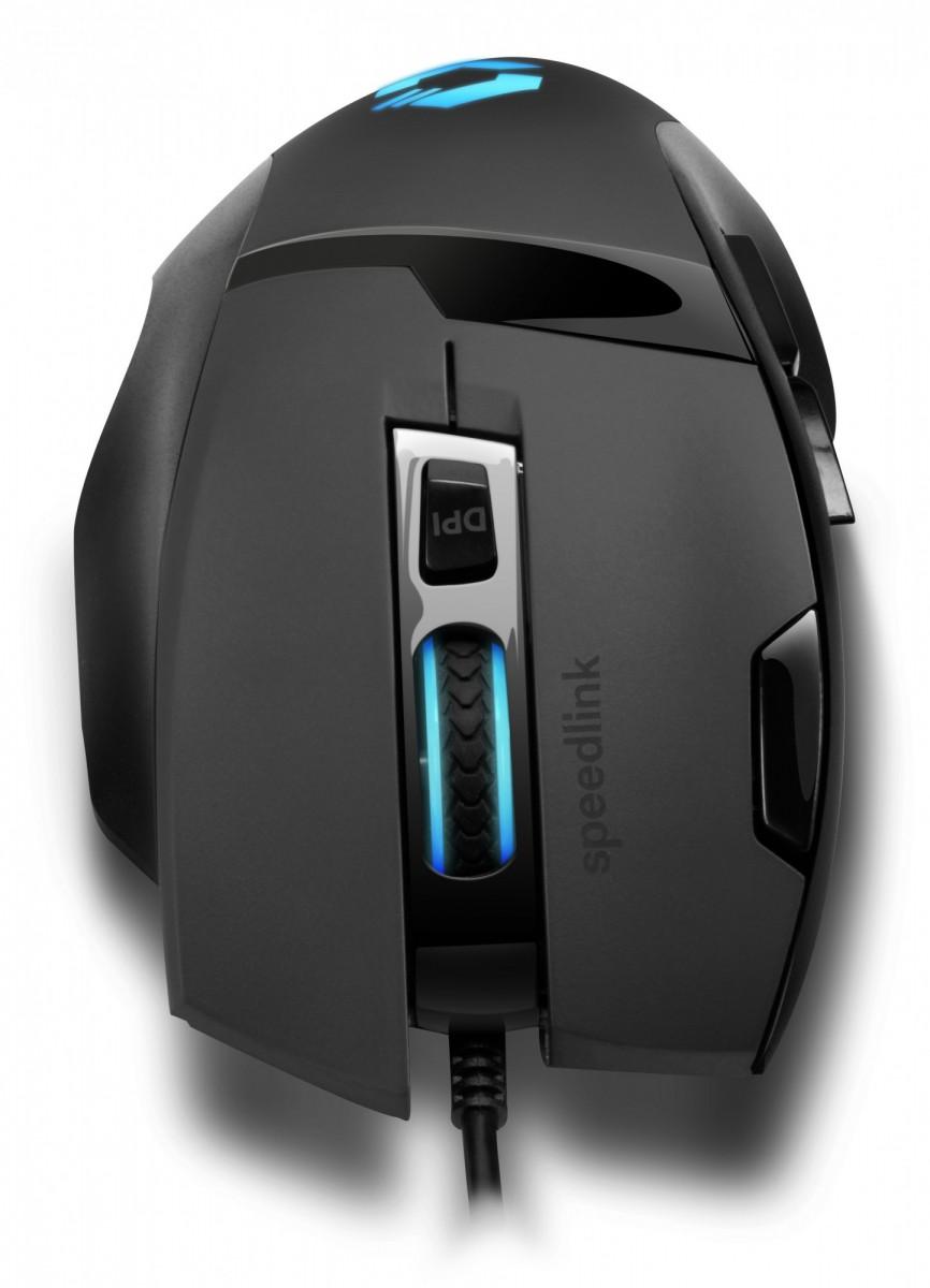 PC Мышь проводная Speedlink Vades Gaming Mouse black-black (SL-680014-BKBK)