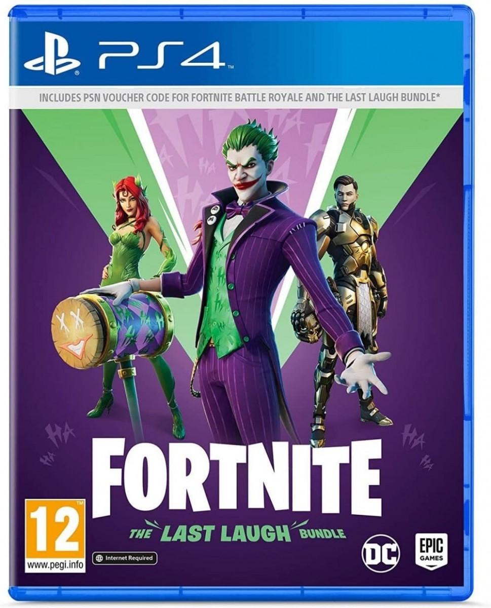 Fortnite - The Last Laugh Bundle (PS4)