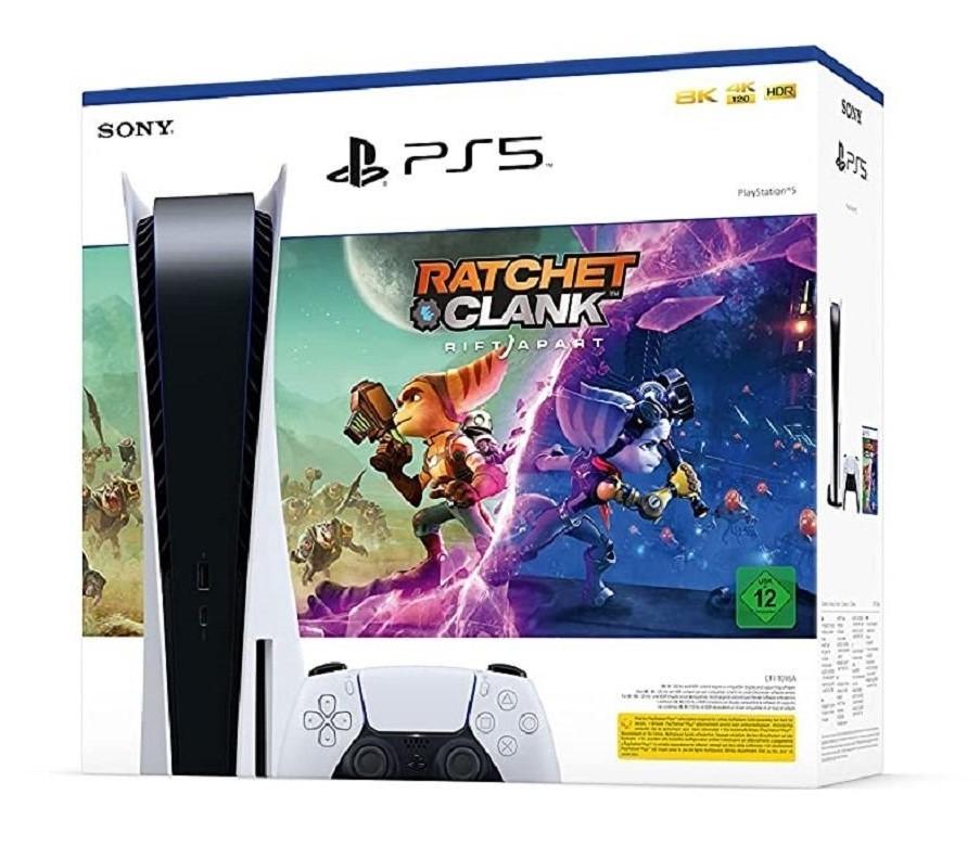 Sony PlayStation 5 (PS5) + Ratchet and Clank: Сквозь миры (PS5) [bundle]