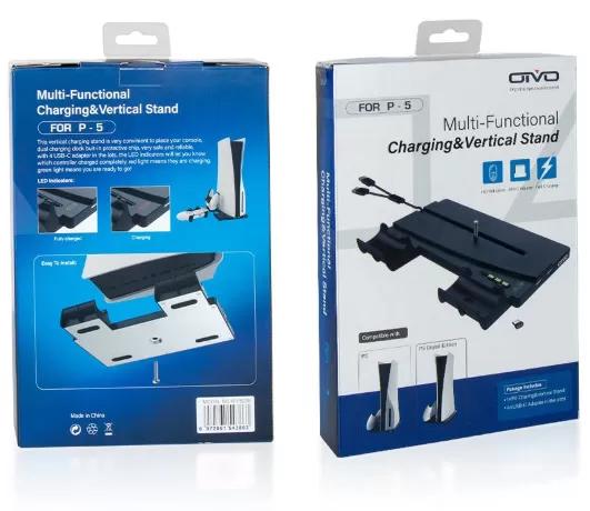 Подставка для PS5 Multi-Functional Charging Stand (OIVO IV-P5238)