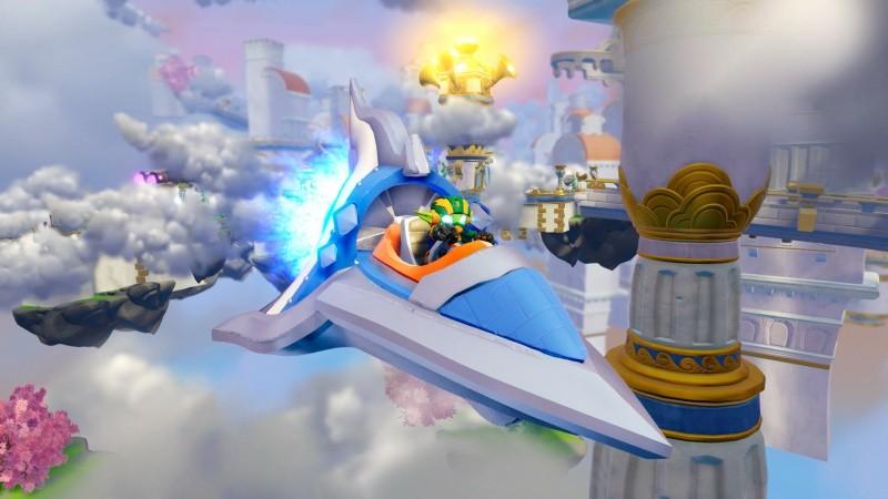 Skylanders SuperChargers: Стартовый набор игра, игровой портал, фигурки: Spitfire, Stealth Elf, Hot Streak (Xbox 360)