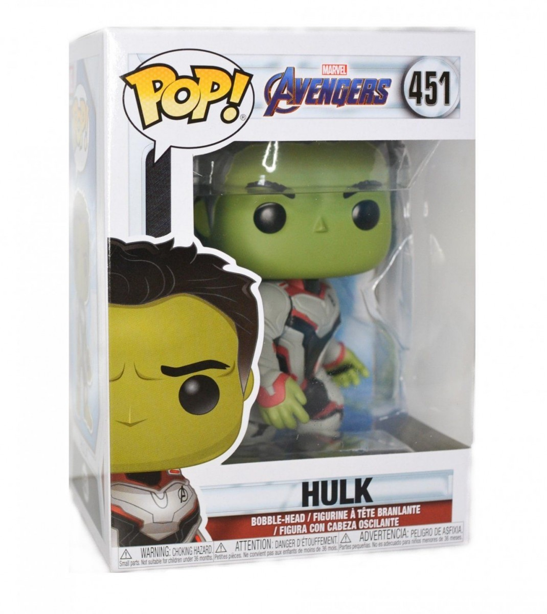 Фигурка Funko POP! Bobble: Халк (Hulk) Мстители: Финал (Avengers Endgame) (36659) 9,5 см