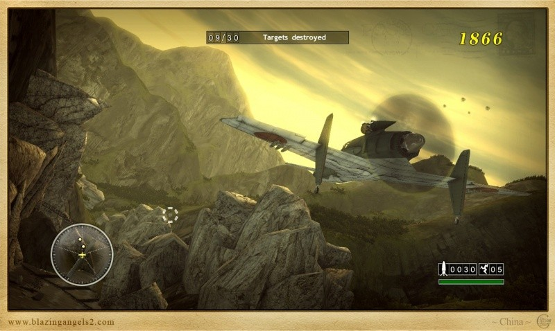 Blazing Angels 2: Secret Missions of WWII (PS3)