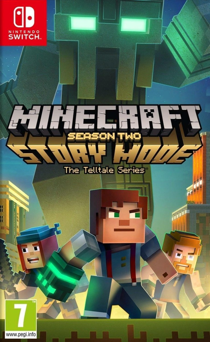 Minecraft: Story Mode Season 2 Русская версия (Switch)