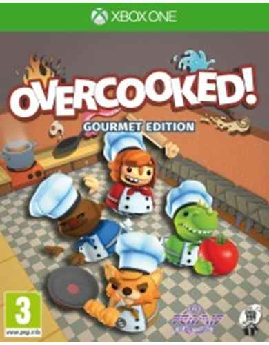 Overcooked: Gourmet Edition (Адская кухня) (Xbox One)