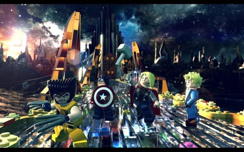LEGO Marvel: Super Heroes Русская Версия (PS4)