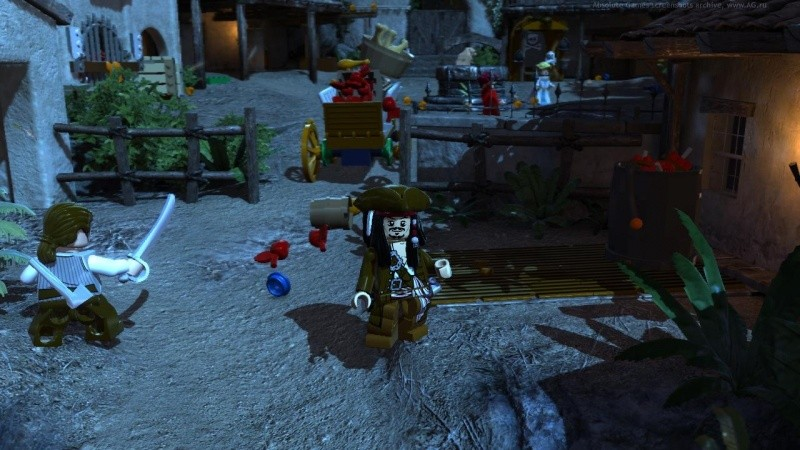 LEGO Pirates of the Caribbean 4 (Пираты Карибского Моря 4) The Video Game (PS3)