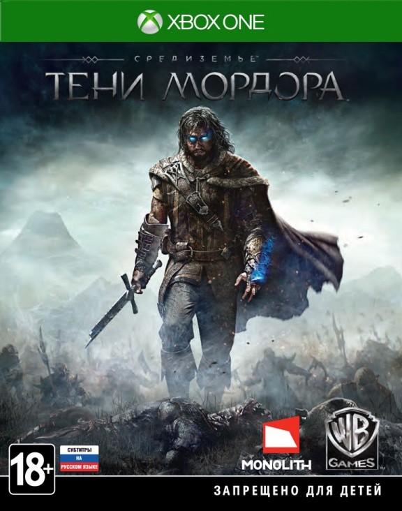 Средиземье (Middle-earth): Тени Мордора (Shadow of Mordor) Русская Версия (Xbox One)