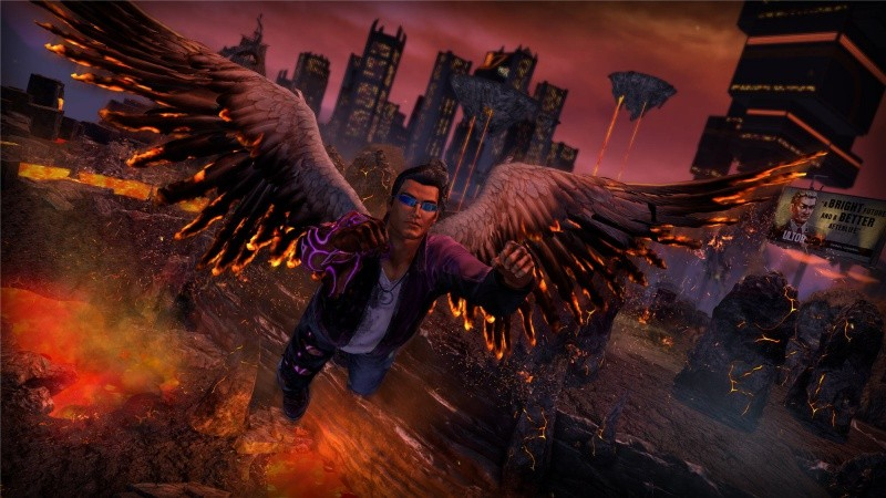 Saints Row 4 (IV): Re-Elected and Gat Out of Hell Русская Версия (Xbox One)