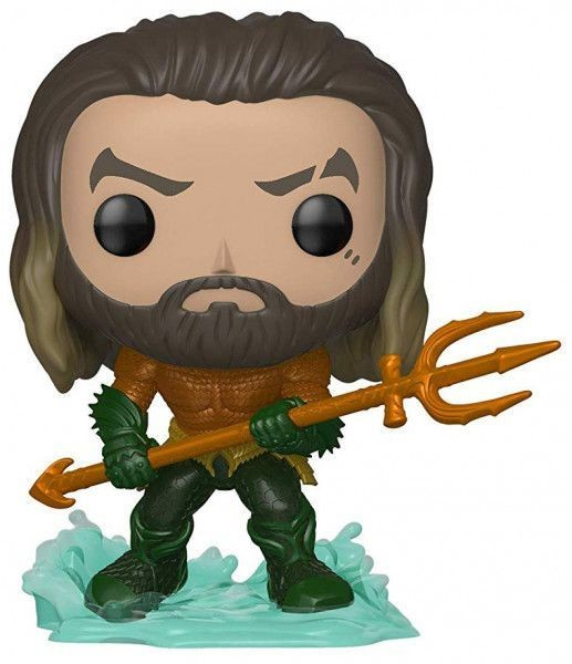 Фигурка Funko POP! Vinyl: Артур Карри в Костюме Героя (Arthur Curry in Hero Suit) Аквамен (Aquaman) (31177) (9,5 см)
