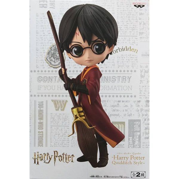 Персонажи фильмов Фигурка Banpresto Q Posket Harry Potter: Гарри Поттер Квиддич (Harry potter Quidditch Style (A Version)) (19968) 14 см