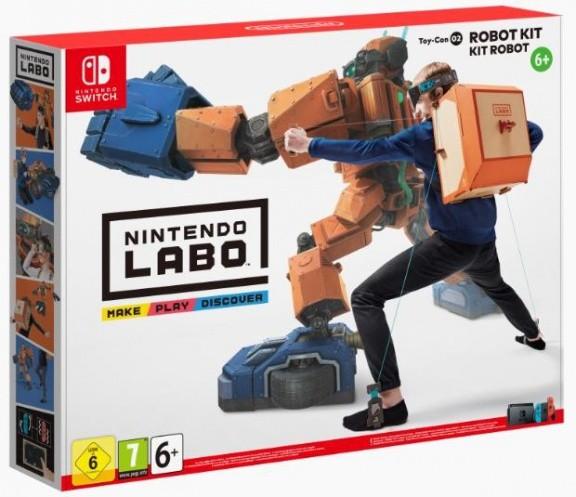 Nintendo Labo: Robot Kit (набор Робот) (Switch)