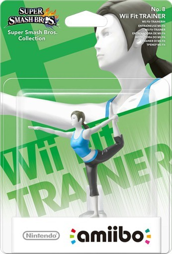 Amiibo: Интерактивная фигурка Тренер Wii Fit (Wii Fit Trainer) (Super Smash Bros. Collection)