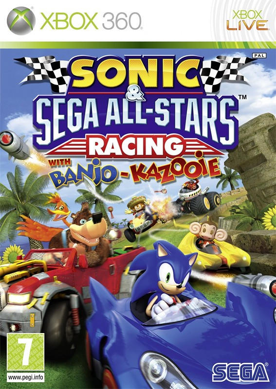 Sonic and SEGA: All-Stars Racing With Banjo-Kazooie (Xbox 360)