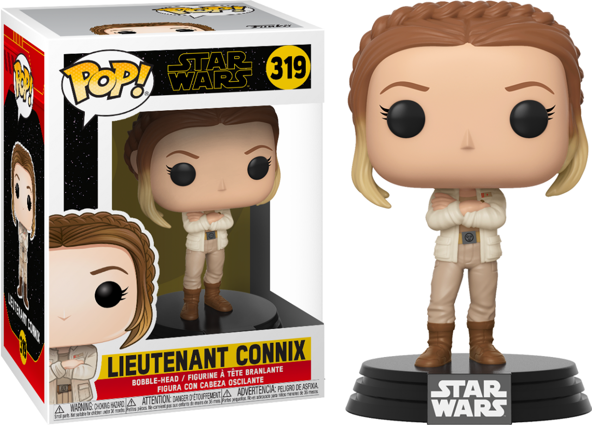 Фигурка Funko POP! Bobble: Звездные войны Эпизод 9 (Star Wars Ep 9): Лейтенант Конникс (Lieutenant Connix) (39906) 9,5 см