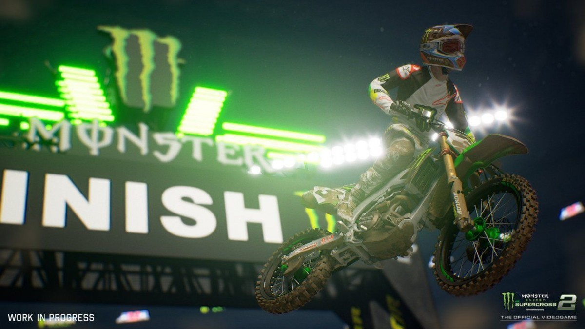 Monster Energy Supercross: The Official Videogame 2 (Switch)