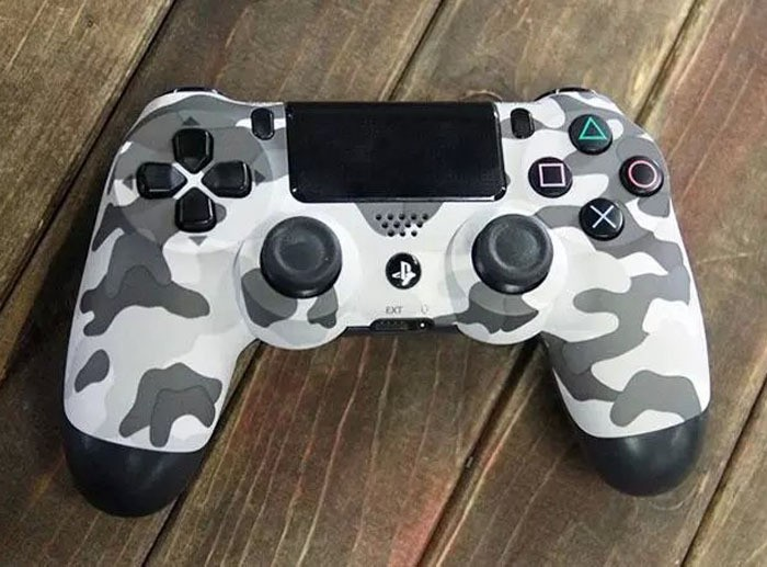 Корпус Shell Case for Controllers Camouflage (PS4)