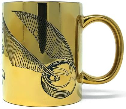 Кружка Pyramid: Гарри Поттер (Harry Potter) Я ловец (I'm A Catch) (Metallic Mugs FMG25074) 315 мл