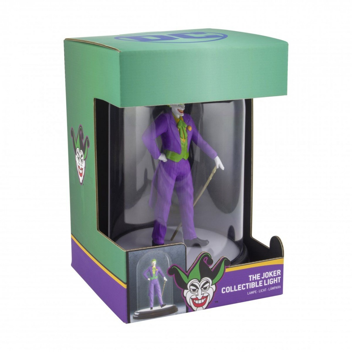 Светильник Paladone: ДиСи (DC) Джокер (The Joker) (PP5245DC) 20 см