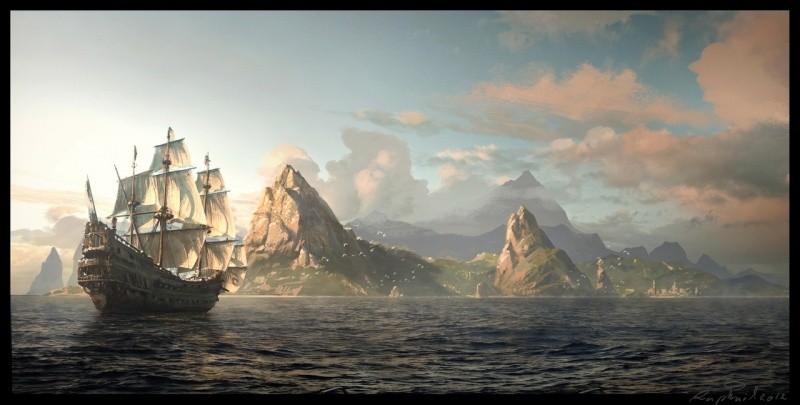 Assassin's Creed 4 (IV): Черный флаг (Black Flag) (PS3)