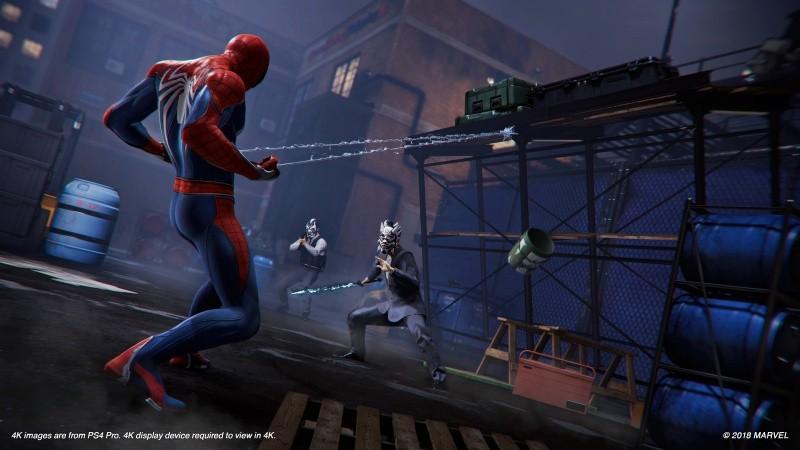 Человек-паук (Marvel Spider-Man) (PS4)