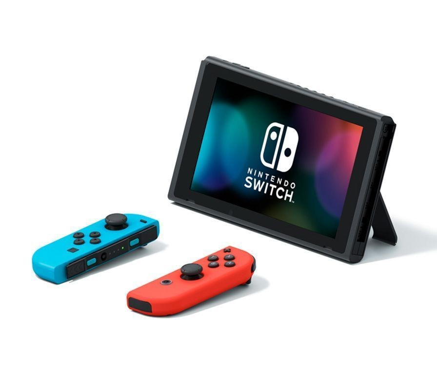 Nintendo Switch 32 GB Neon Red/Blue + Ring Fit Adventure