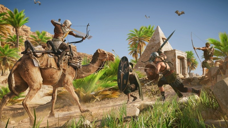 Assassin's Creed: Истоки (Origins) Русская Версия (PS4)