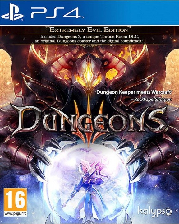 Dungeons 3 (III) Extremely Evil Edition Русская версия (PS4)