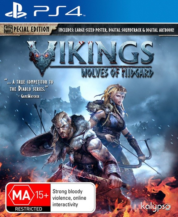 Vikings: Wolves of Midgard Special Edition Русская Версия (PS4)