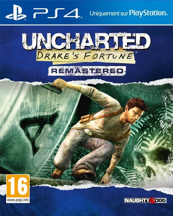 Uncharted: Drake's Fortune Remastered Русская Версия (PS4)