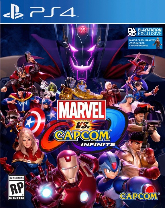Marvel vs. Capcom Infinite Русская Версия (PS4)