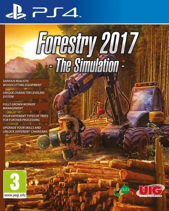 Forestry 2017: The Simulation (PS4)
