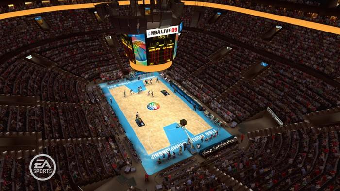 NBA Live 09 Русская Версия (Xbox 360)