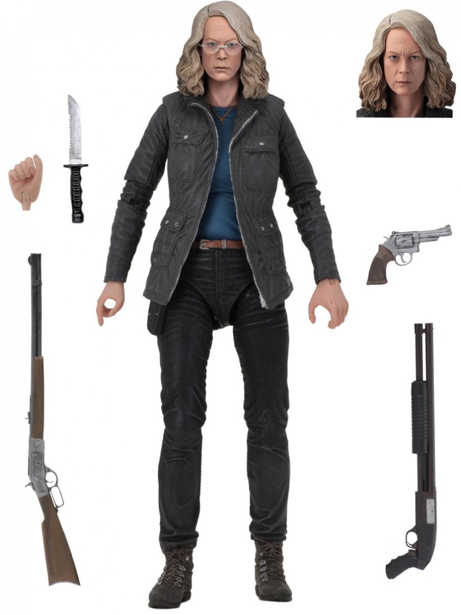 Фигурка NECA: Ультимейт Лори Строуд (Ultimate Laurie Strode) Хэллоуин (Halloween) 18 см