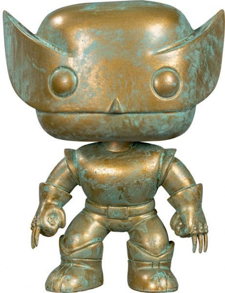 Фигурка Funko POP! Bobble: Росомаха (Wolverine (PT)(Exc)) Марвел 80 лет (Marvel 80th) (42215) 9,5 см