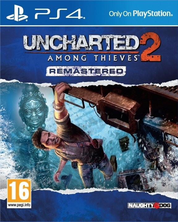 Uncharted: 2 Among Thieves Remastered Русская Версия (PS4)