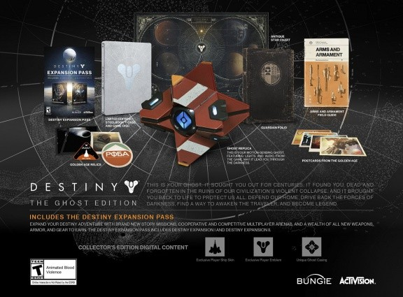Destiny: The Ghost Edition (Xbox One)