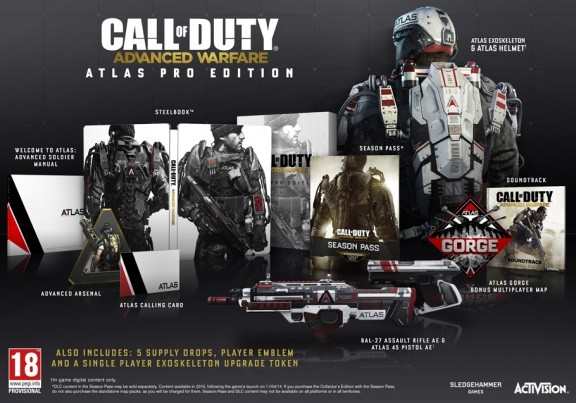 Call of Duty: Advanced Warfare. Atlas Pro Edition (Xbox One)