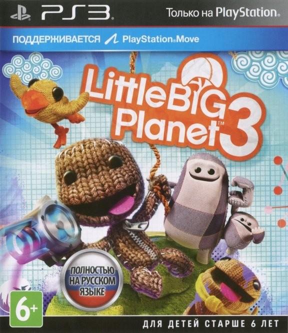 LittleBigPlanet 3 Русская Версия (PS3)