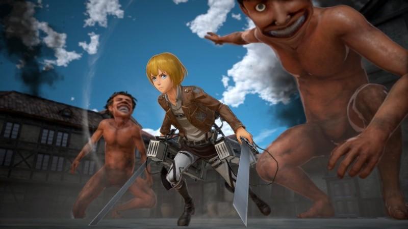 Attack on Titan 2 (A.O.T. 2)(Атака на Титанов 2) (PS4)