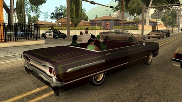 GTA: Grand Theft Auto: San Andreas (Xbox 360/Xbox One)