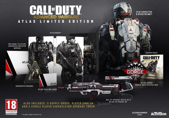 Call of Duty: Advanced Warfare. Atlas Limited Edition (Xbox One)