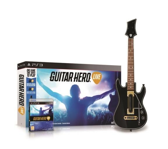 Guitar Hero: Live Bundle (Гитара + игра) (PS3)