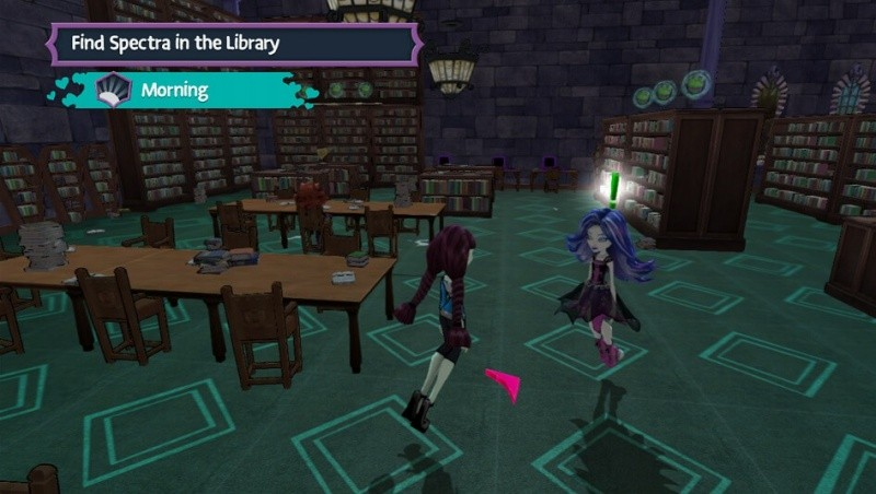Monster High: New Ghoul in School (Xbox 360)